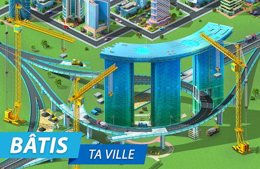 Code Triche Megapolis: Bâtis la ville de tes rêves! (Astuce) APK MOD screenshots 4