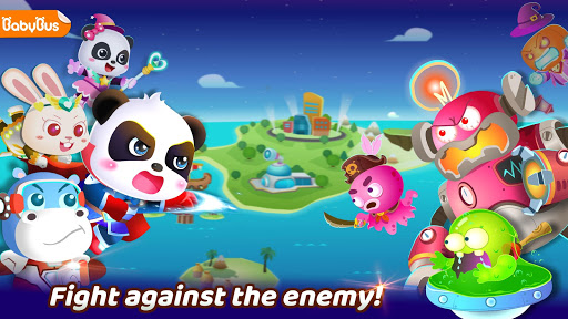 Little Panda's Hero Battle Game  screenshots 1