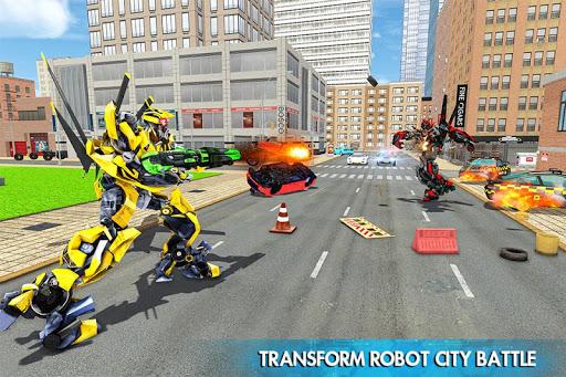 Helicopter Robot Transform War u2013 Air robot games  screenshots 4
