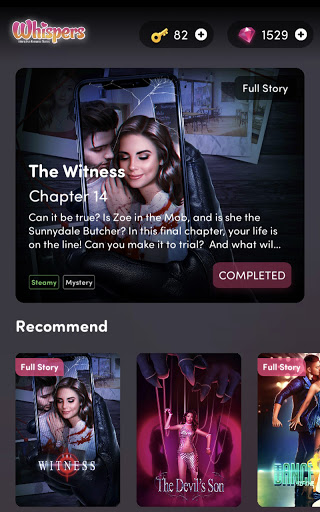 Whispers: Interactive Romance Stories apkpoly screenshots 7