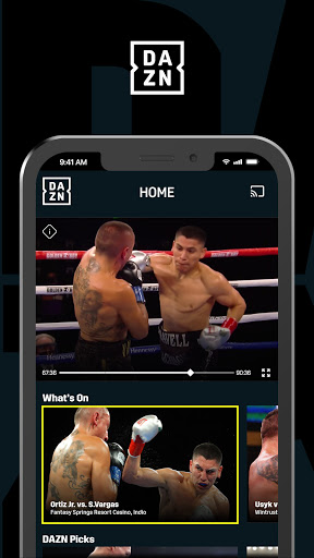 DAZN: Live Sports Streaming  Screenshots 1