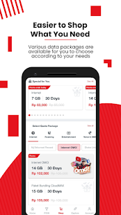 MyTelkomsel – Check & Buy Packages, Redeem POIN Screenshot