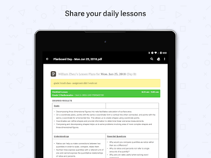 Planboard - Free Lesson Planner for Teachers