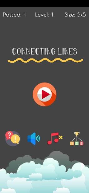 Connex : Line Connect Brain teaser Puzzle Game screenshot 2