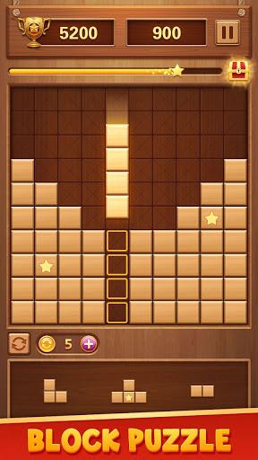 Wood Block Puzzle - Classic Brain Puzzle Game 1.5.9 screenshots 1
