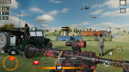 Modern Commando 3D: New Shooting- Army Games 2021  screenshots 1