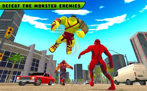 Incredible Monster City Hero Battle Mission 2021 1.1 screenshots 2