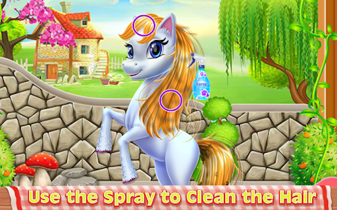 Fairy Pony Horse Mane Braiding Salon 1.0.1 Android Mod + APK + Data 3