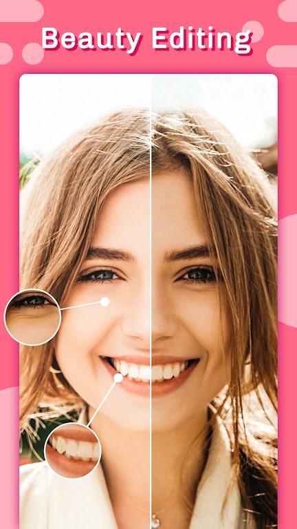 Candy selfie -beauty camera & photo editor pro  poster 0