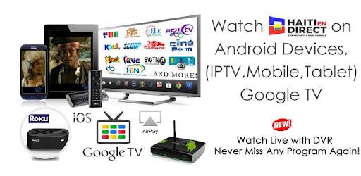 Haiti En Direct TV - Apps on Google Play