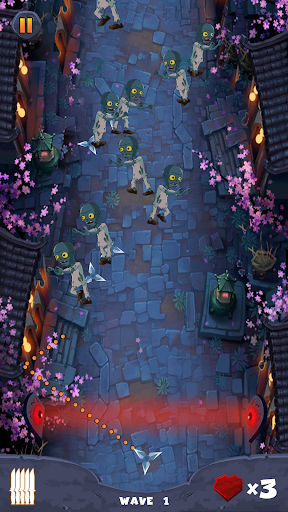 ninja vs zombies- ultimate survival new game 2021 screenshot 3