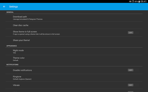 Themes for Telegram 1.2.7 Screenshots 7