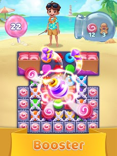 Jellipop Match-Decorate your dream island! 9