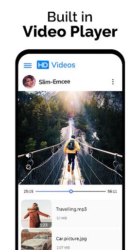 Video Downloader - Private File Downloader & Saver android2mod screenshots 17