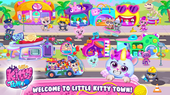 Little Kitty Town - Collect Cats