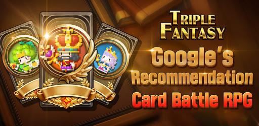 Screenshot of Triple Fantasy Card Strategy Rpg Games