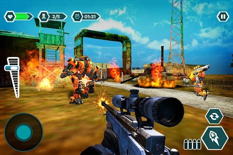 Modern sniper gun hitman combat – Shooting game Hack for Android and iOS 3