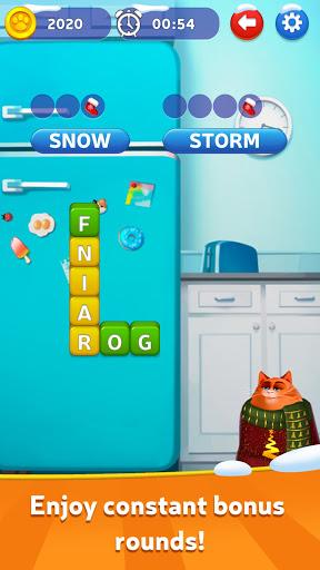 u2764ufe0fKitty Scramble: Word Stacks android2mod screenshots 2