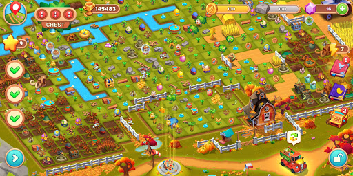 Mingle Farm u2013 Merge and Match Game android2mod screenshots 7