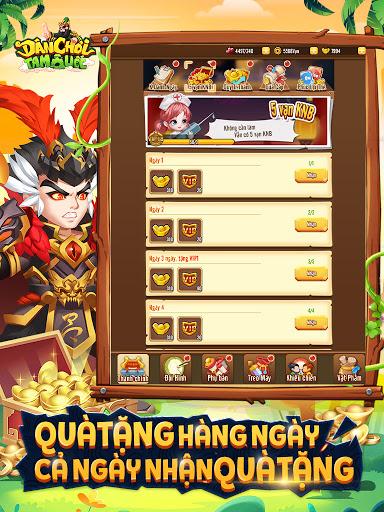 Du00e2n Chu01a1i Tam Quu1ed1c - Dan Choi Tam Quoc  screenshots 9