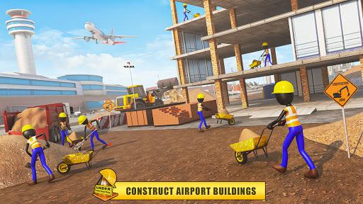 Stickman Airport City Builder 1.2 screenshots 2