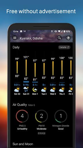 Weather & Widget - Weawow android2mod screenshots 3