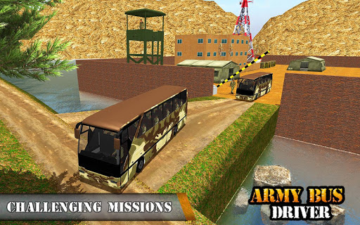 Army Bus Driving 2019 - Military Coach Transporter 1.0.9 screenshots 11