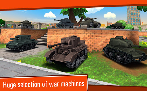 Toon Wars: Awesome PvP Tank Games  screenshots 20