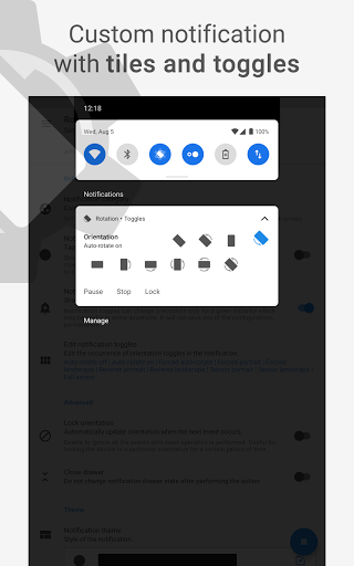 Rotation | Orientation Manager apktram screenshots 13