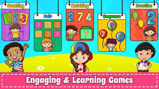 Learn Numbers 123 Kids Free Game - Count & Tracing  screenshots 2