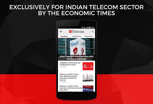 et telecom from economic times screenshot 1