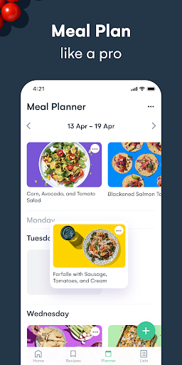 Whisk: Recipe Saver, Meal Planner & Grocery List 1.6.1 screenshots 3