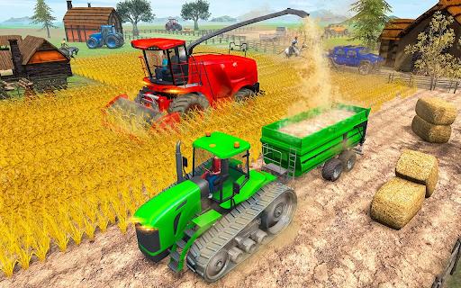 Modern Tractor Farming Simulator: Offline Games apktram screenshots 3