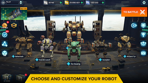 War Robots. 6v6 Tactical Multiplayer Battles goodtube screenshots 17