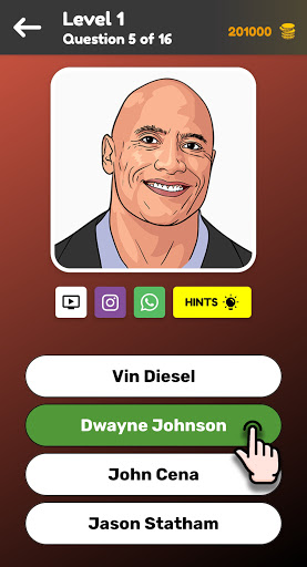 Celebrity Quiz - Celebs Trivia  screenshots 2