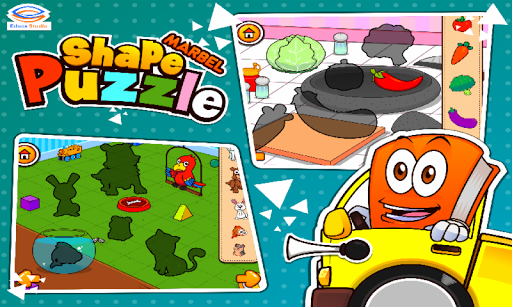 Marbel Shape Puzzle Kids Games modavailable screenshots 3