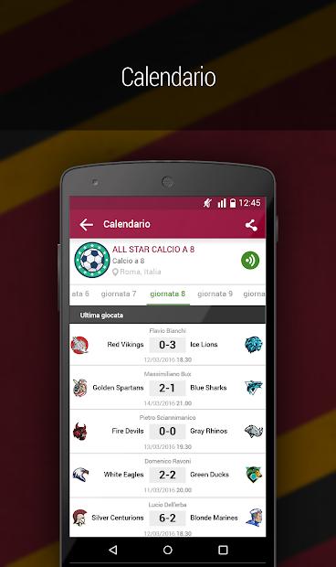 Screenshot 4 de Atletico 2000 para android