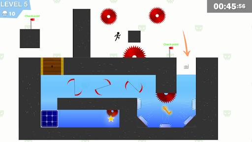 Stickman Impaled:Stick Parkour Platformer  screenshots 9