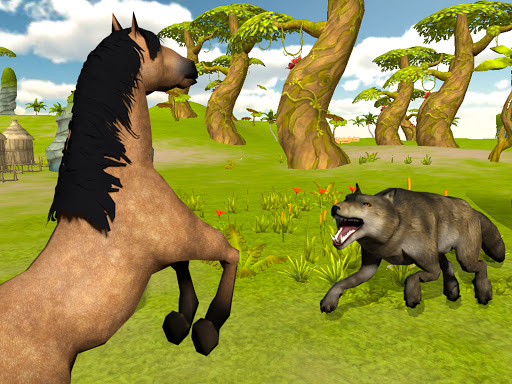 Ultimate Horse Simulator - Wild Horse Riding Game apkpoly screenshots 14