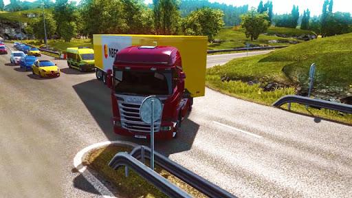 Lorry Truck Simulator:Real Mobile Truck Transport 1.2 screenshots 1