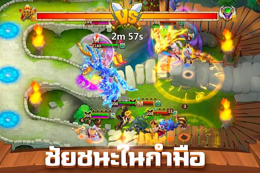 Castle Clash: u0e25u0e35u0e01u0e02u0e31u0e49u0e19u0e40u0e17u0e1e 1.7.4 screenshots 3