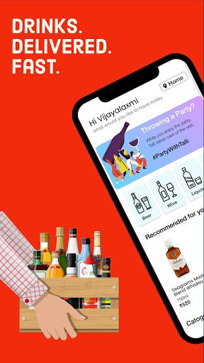 Talli: Alcohol delivery. Order Beer, Wine & Liquor 3.3 screenshots 1