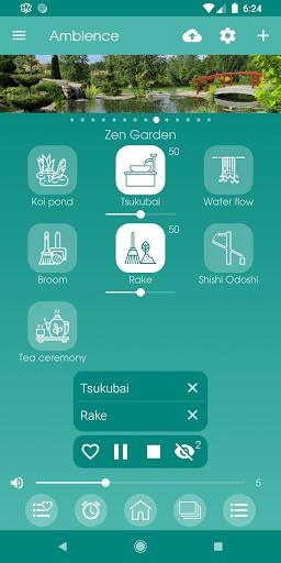 Ambience - Nature sounds: sleep and meditation android2mod screenshots 6