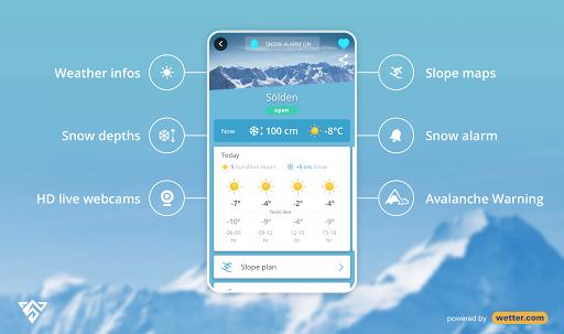 Snowthority: ski, snow, lift, slope map & ski info  Screenshots 1