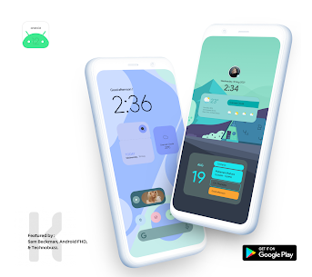 Android 12 Widget Pack for KWGT APK [PAID] Download 5