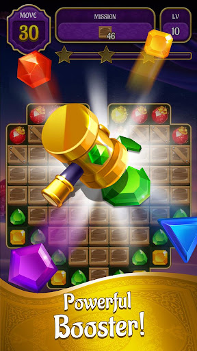 Genies & Gold - Match 3 Jewel & Gem Adventure android2mod screenshots 6