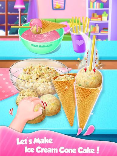 Ice Cream Cone Cake - Sweet Trendy Desserts screenshots 2