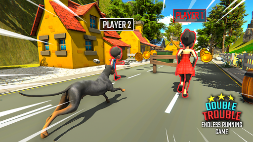 Double Trouble: Endless Robbery Free Running Game  screenshots 6