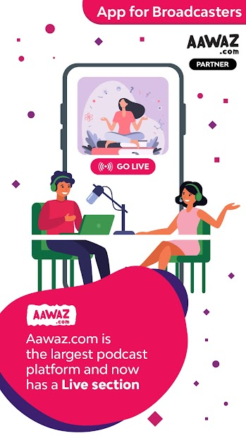 aawaz Partner App screenshot 2