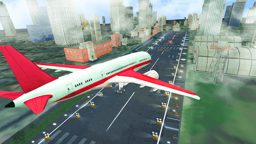 Airplane Flight Simulator Free Offline Games apkslow screenshots 10